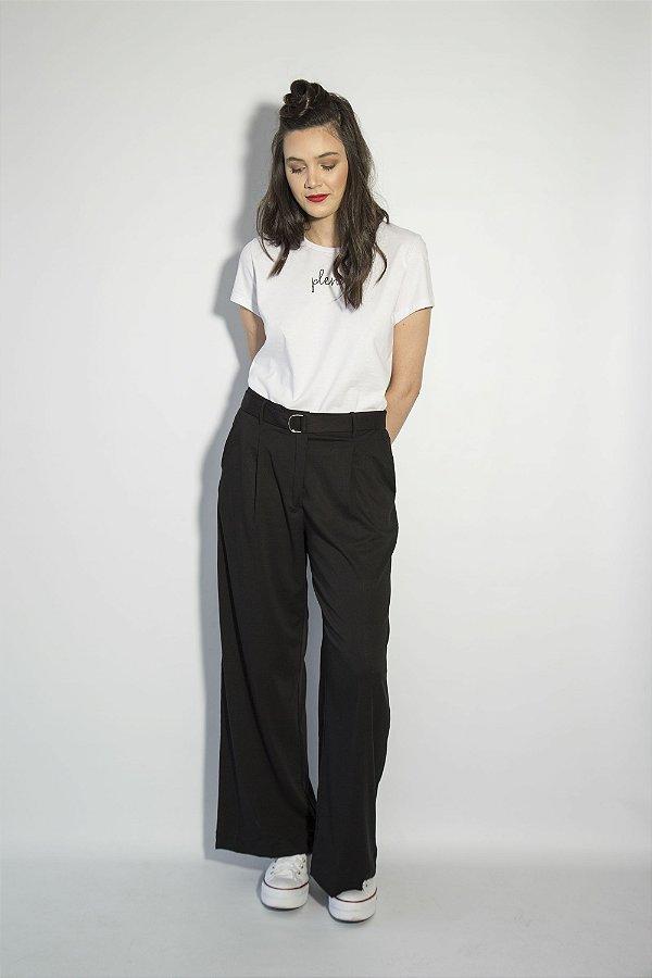 ff440a5913d Calça Pantalona Preta - 787 Shirts