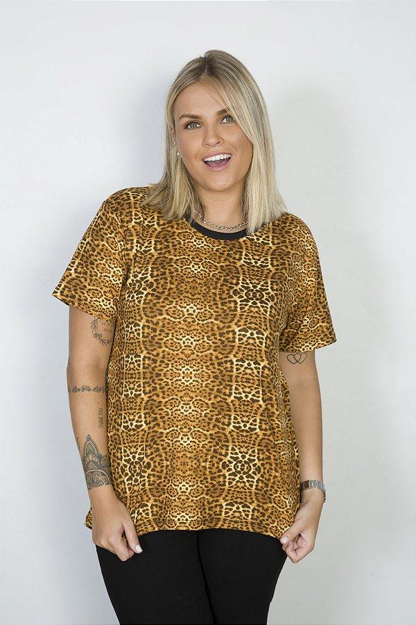 Camiseta Feminina Cotton Onça