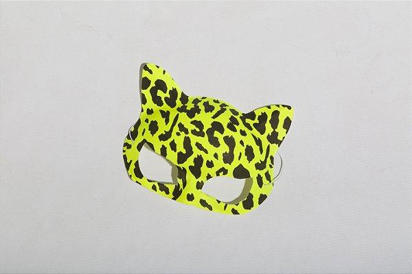 Máscara Onça Neon