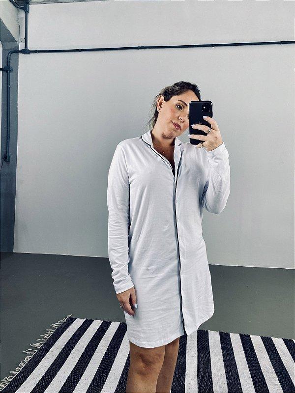 Camisola Manga Longa Branca