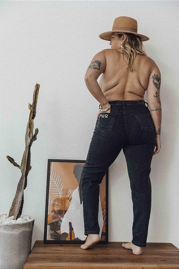 Calça Jeans Skinny com Elastano Melissa Long