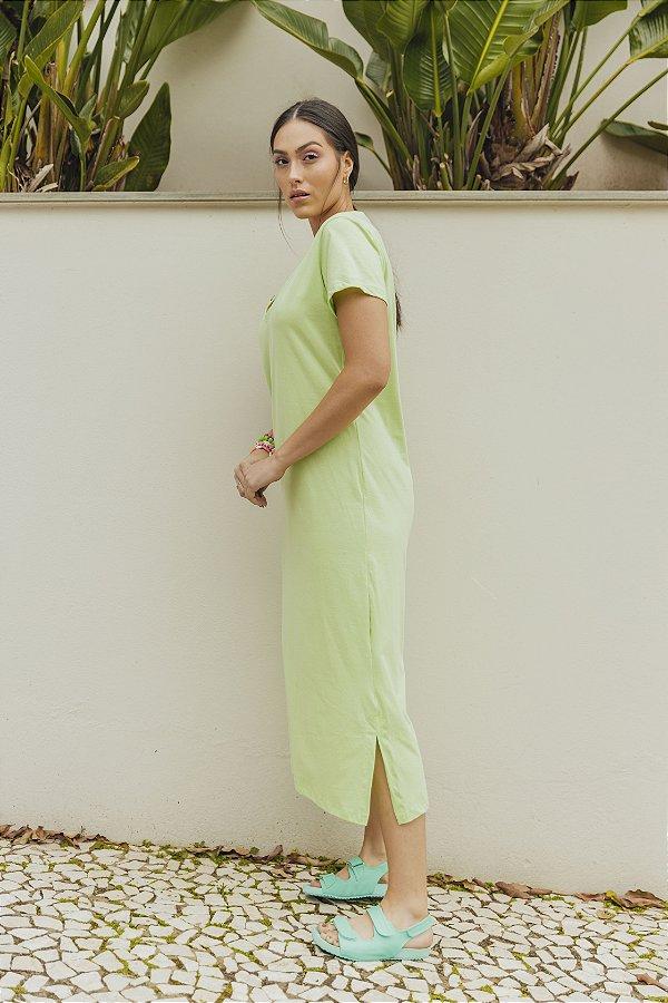 Vestido Mortícia MIDI Verde