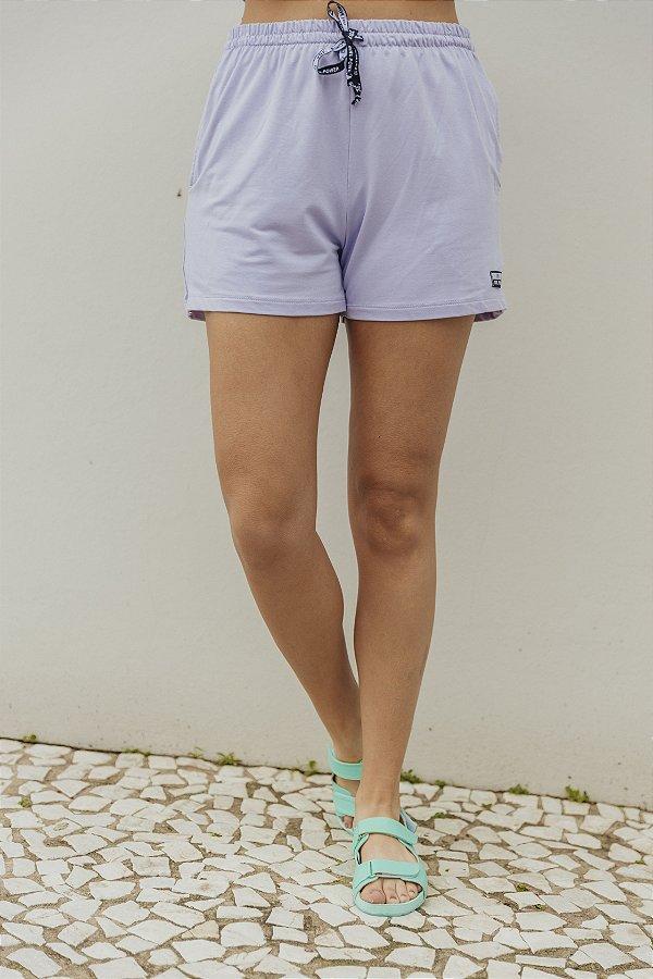 Shorts Básico Lilás