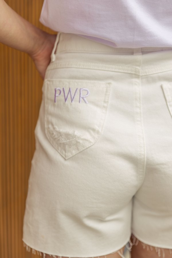 Shorts Jeans Destroyed Bárbara Off