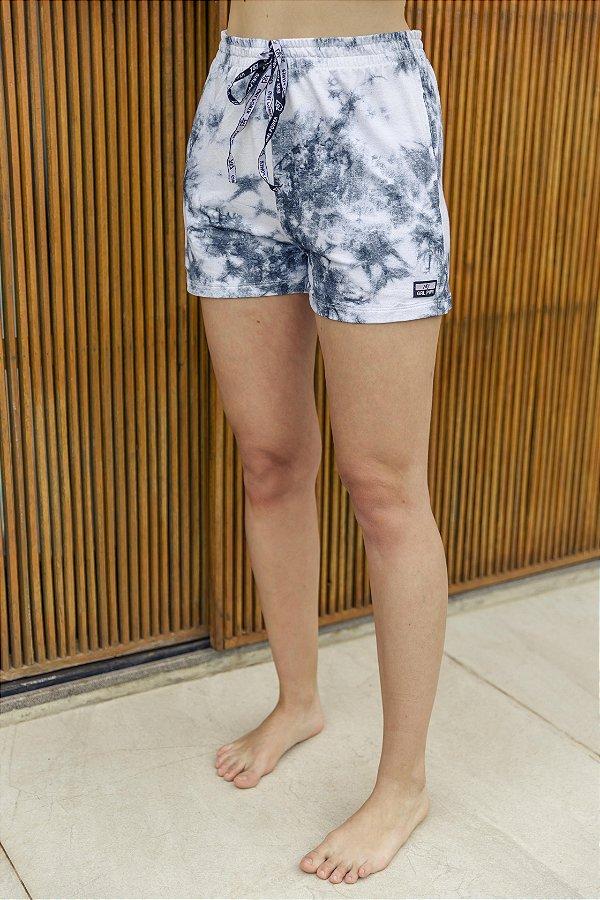 Shorts Tie Dye Marinho