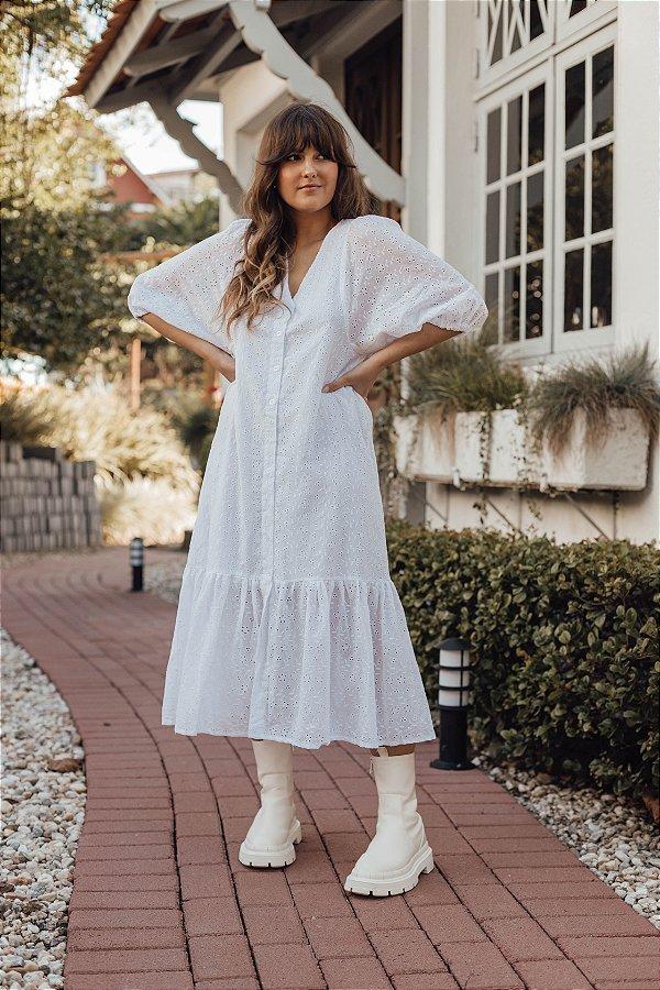 Vestido Branco Luiza