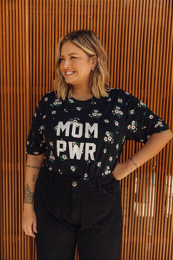 Camiseta MOM PWR Margaridas