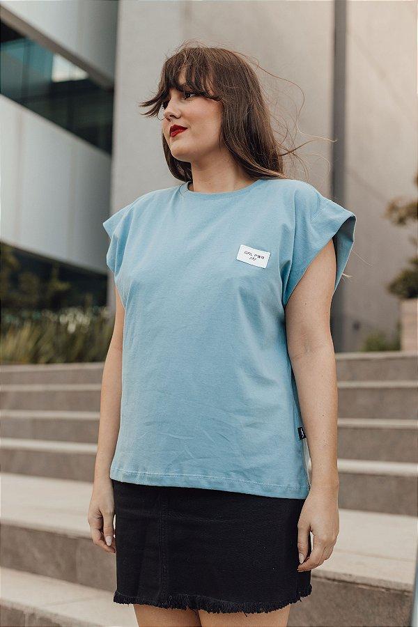 Camiseta Muscle Tee Azul