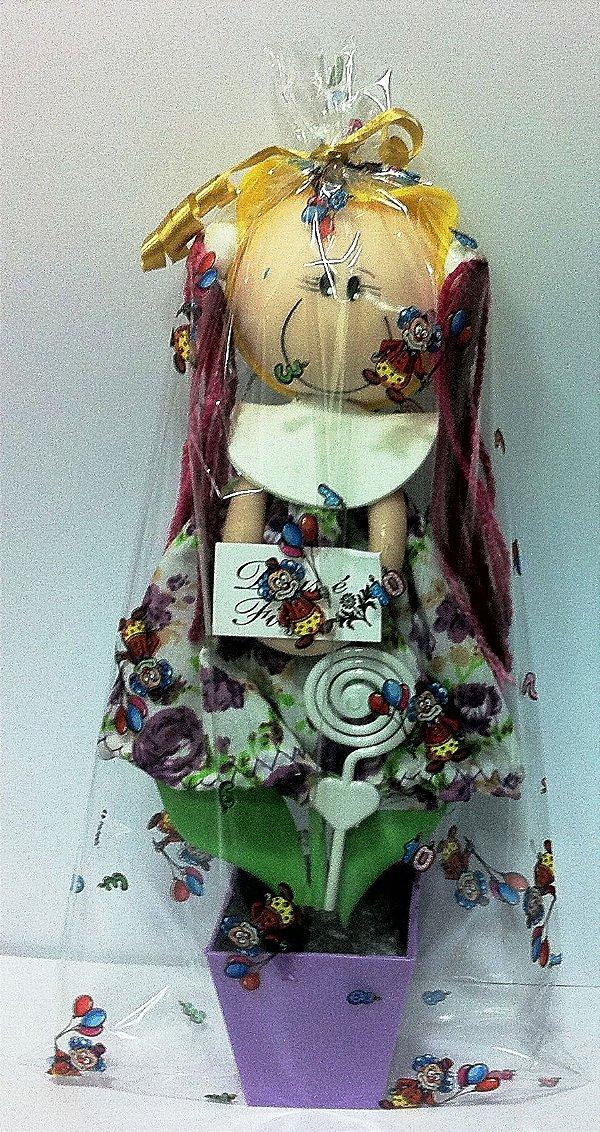 Vaso boneca