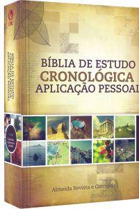 A Bíblia Em Ordem Cronológica Aplicação Pessoal
