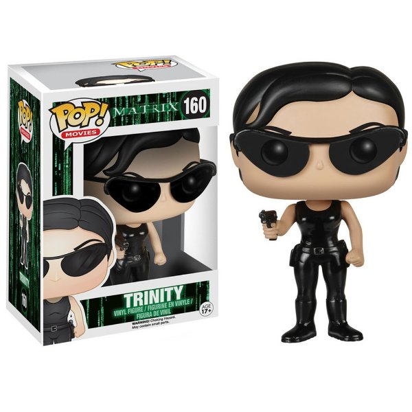 Boneco Funko Pop Movie Matrix Trinity
