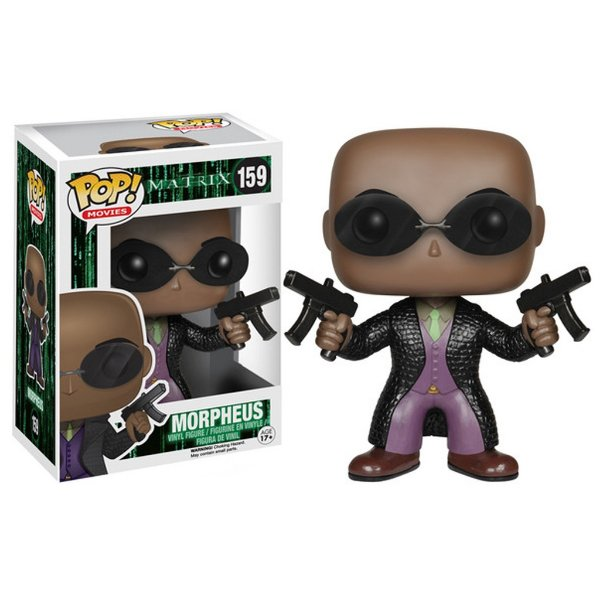 Boneco Funko Pop Movie Matrix Morpheus