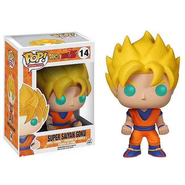 Boneco Funko Pop DragonBall Z Super Saiyan Goku
