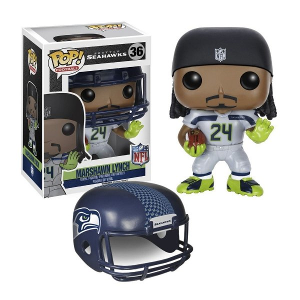 Boneco Funko Pop NFL Marshawn Lynch Wave 2