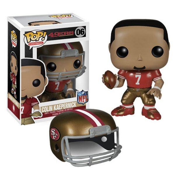 Boneco Funko Pop NFL Colin Kaepernick