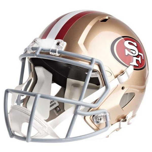 Mini Capacete Riddell NFL San Francisco 49ers