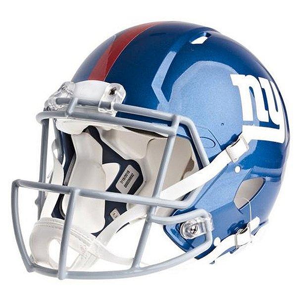 Mini Capacete Riddell NFL New York Giants