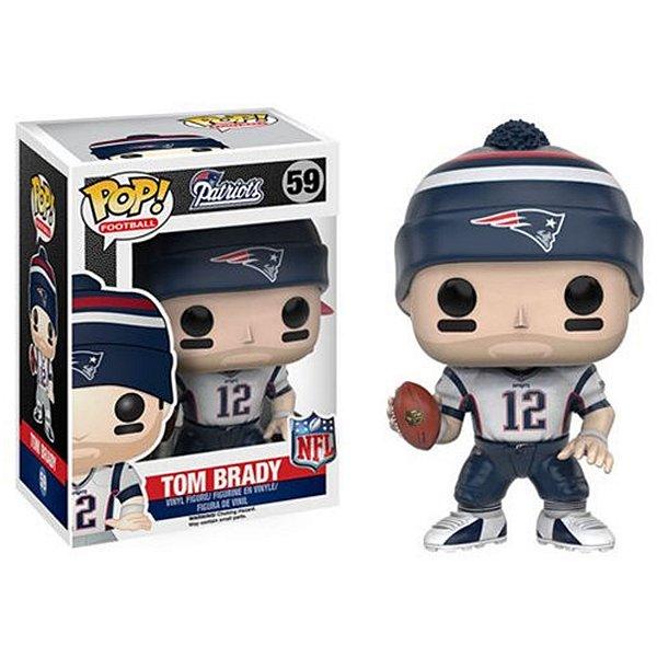 Boneco Funko Pop NFL Tom Brady Wave 3