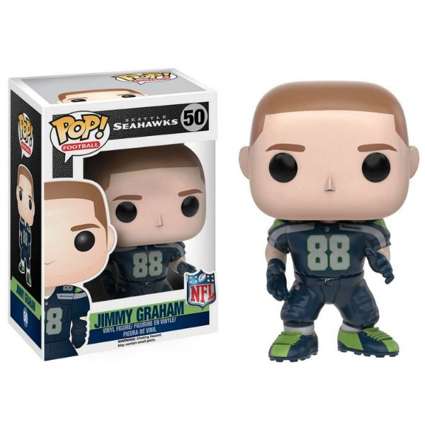 Boneco Funko Pop NFL Jimmy Graham Wave 3