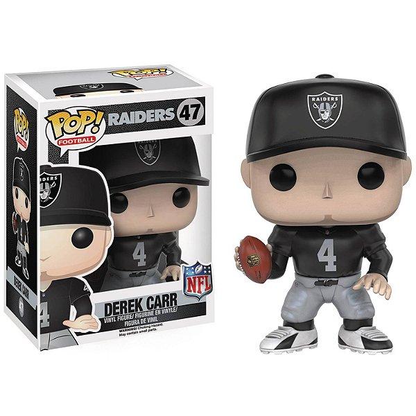 Boneco Funko Pop NFL Derek Carr