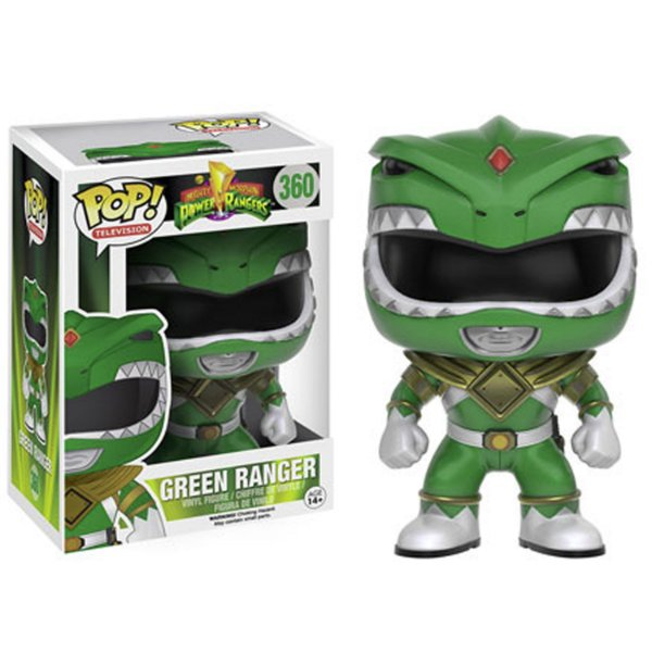 Boneco Funko Pop TV Power Ranger Verde