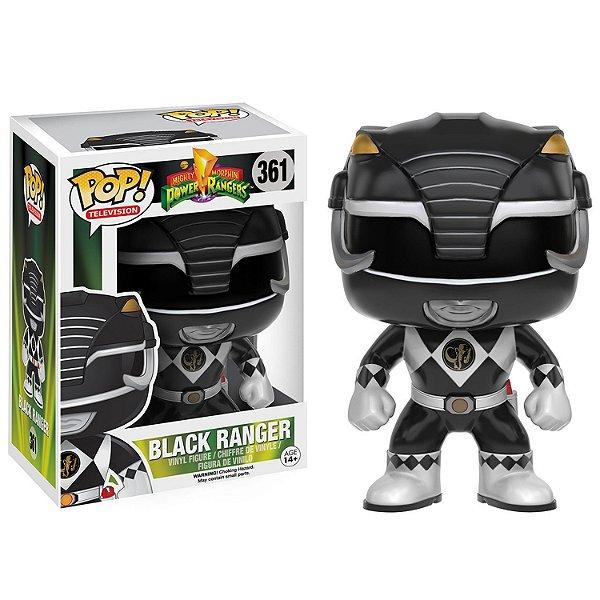 Boneco Funko Pop TV Power Ranger Preto