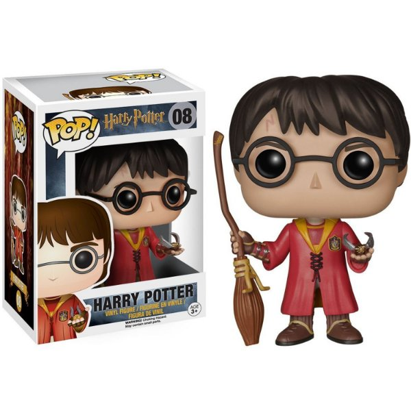 Boneco Funko Pop Movies Harry Potter Quadribol