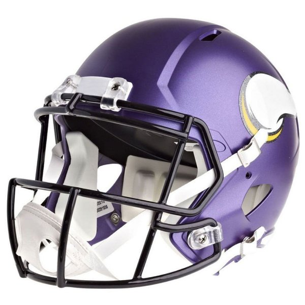 Mini Capacete Riddell NFL Minnesota Vikings