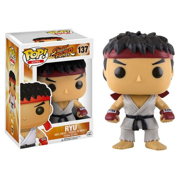 Boneco Funko Pop Games Street Fighter Ryu