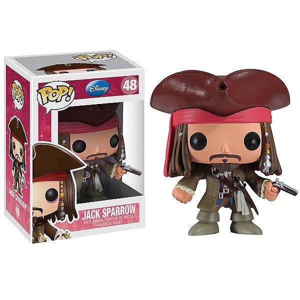 Boneco Funko Pop Movie Piratas do Caribe Jack Sparrow