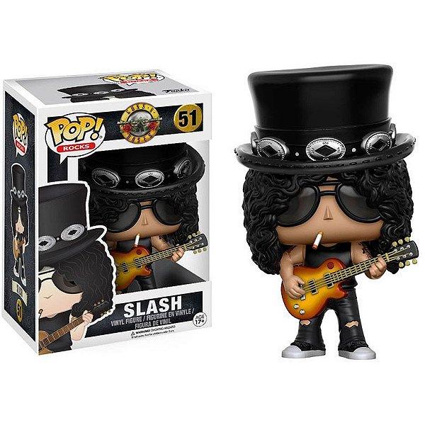 Boneco Funko Pop Rocks Guns N' Roses Slash