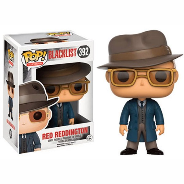 Boneco Funko Pop TV Blacklist Red Reddington