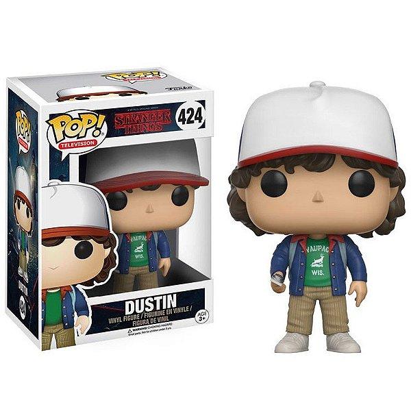 Boneco Funko Pop TV Stranger Things Dustin