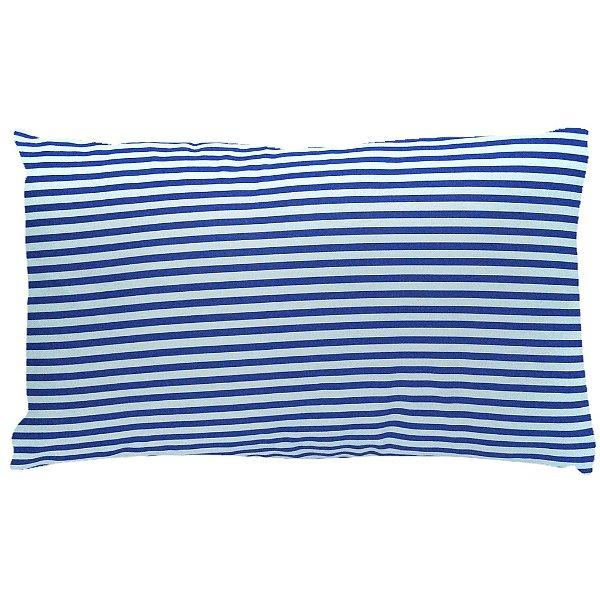Almofada Azul Listrada 30x50