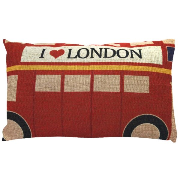 Almofada London Bus 30x50