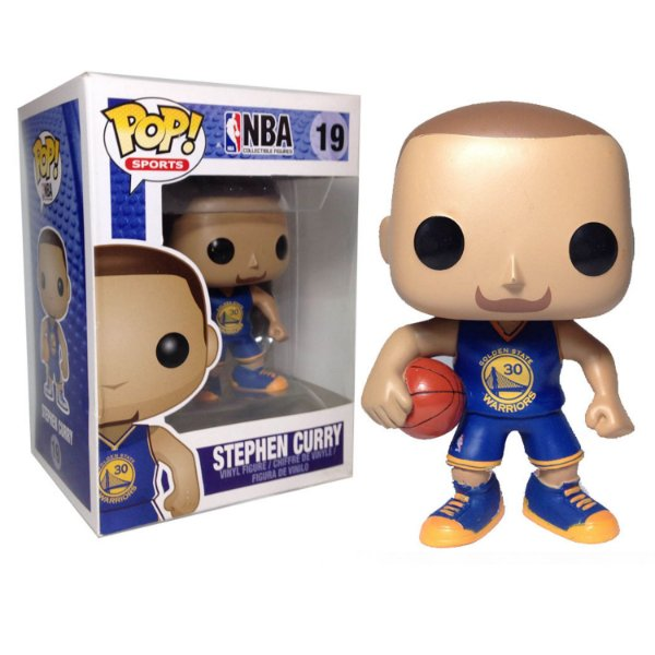 Boneco Funko Pop NBA Stephen Curry Blue