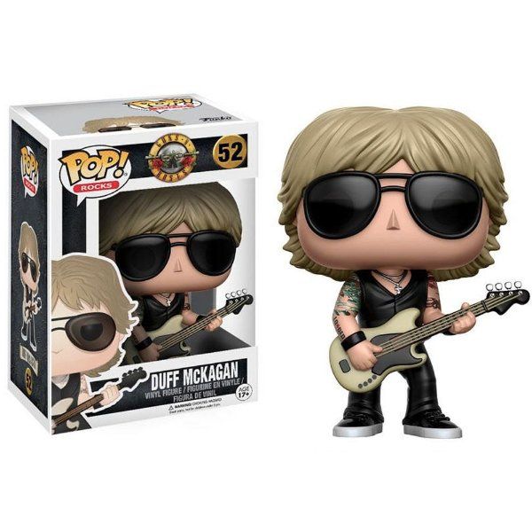 Boneco Funko Pop Rocks Guns N' Roses Duff McKagan