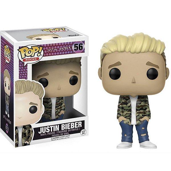 Boneco Funko Pop Rocks Justin Bieber