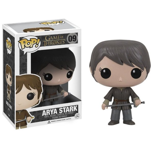 Boneco Funko Pop Game of Thrones Arya Stark
