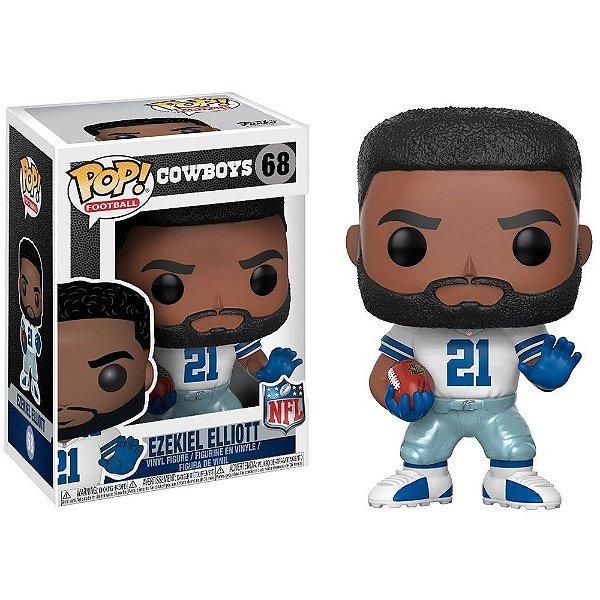 Boneco Funko Pop NFL Ezekiel Elliott Wave 4