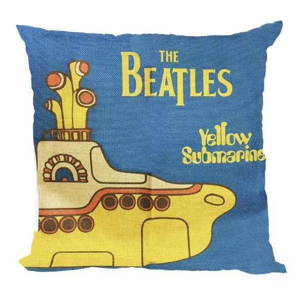 Almofada Yellow Submarine 45x45