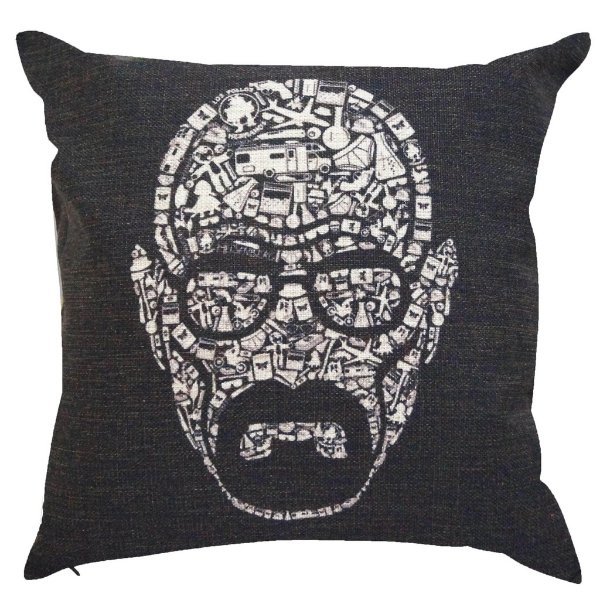 Almofada Breaking Bad Walter White 45x45