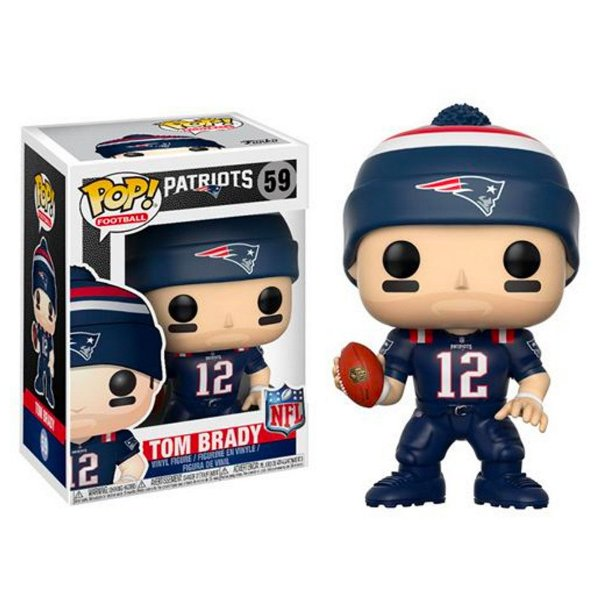 Boneco Funko Pop NFL Tom Brady Wave 4