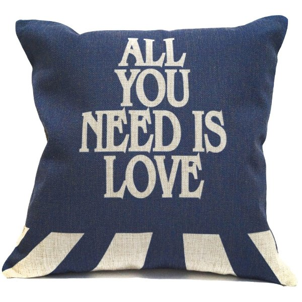 Almofada Beatles All You Need is Love 45x45