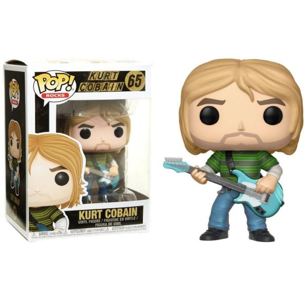 Boneco Funko Pop Music Kurt Cobain