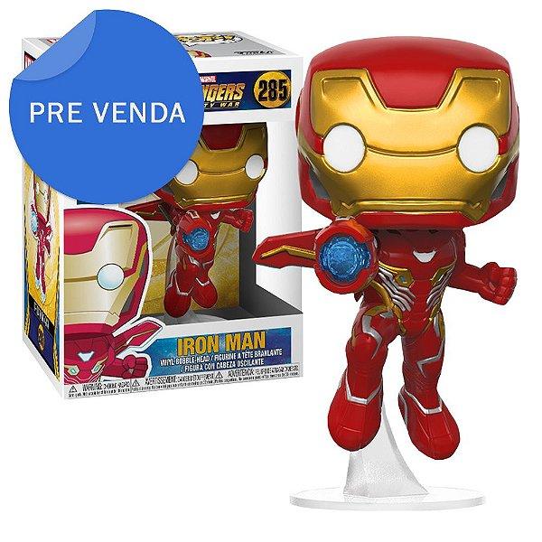 Boneco Funko Pop Marvel Avengers Infinity War Homem de Ferro