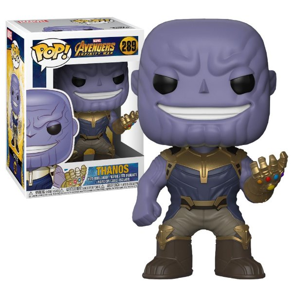 Boneco Funko Pop Marvel Avengers Infinity War Thanos