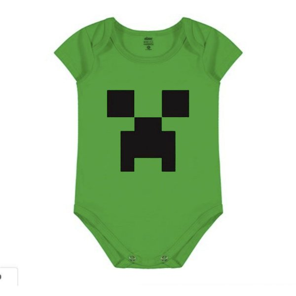 Body Infantil Minecraft