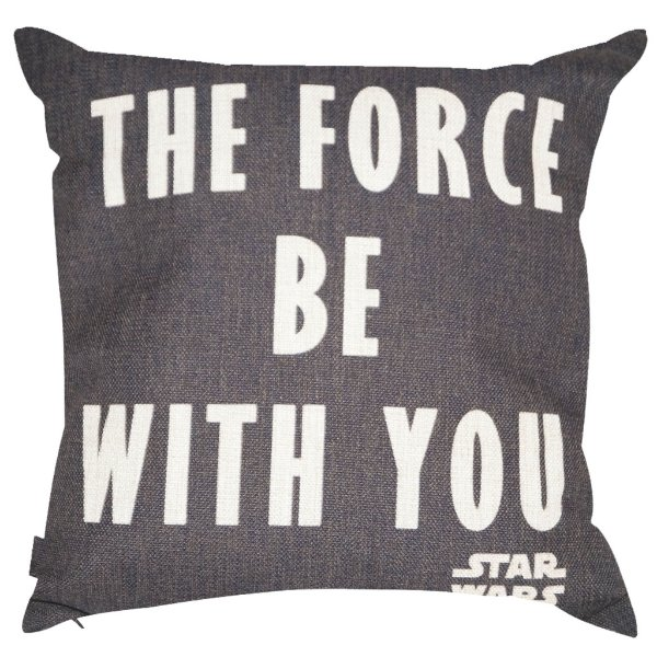 Almofada Star Wars The Force Be With You 45x45