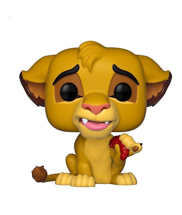 Boneco Funko Pop! Disney: O Rei Leão - SIMBA